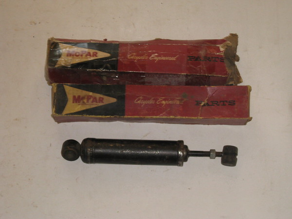 1960 1961 Chrysler Desoto NOS front shock absorbers # 2240355 (zd 2240355)