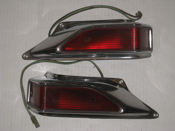 1963 1964 9165 9166 Studebaker station wagon used tail lamps # sm 63 sv