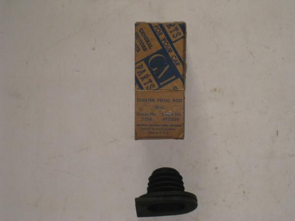 1936 1937 Chevrolet NOS starter pedal rod rubber seal # 477309 (zd 477309)