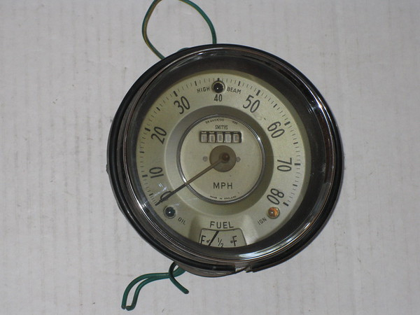 1959 1960 1961 1962 Morris Minor used speedometer # 4407/00