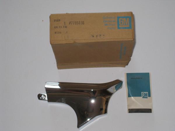 1968 1969 1970 1971 1972 Chevrolet El Camino GMC Sprint NOS RH rear bed corner cap molding # 7795036