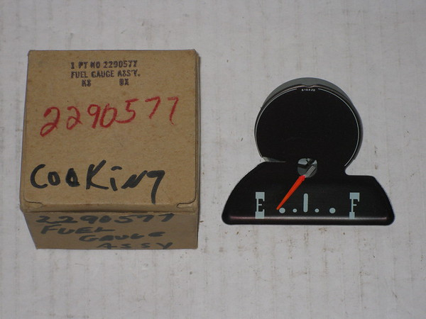 1963 Plymouth NOS gas fuel gauge # 2290577
