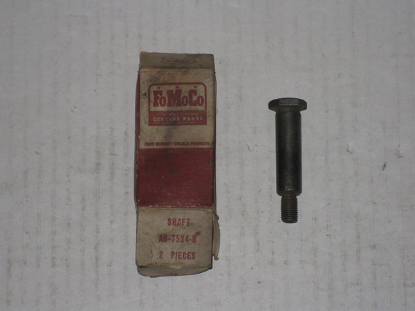1952 53 54 55 56 1957 Ford car & thunderbird NOS clutch release idler lever shaft # ab-7524-b