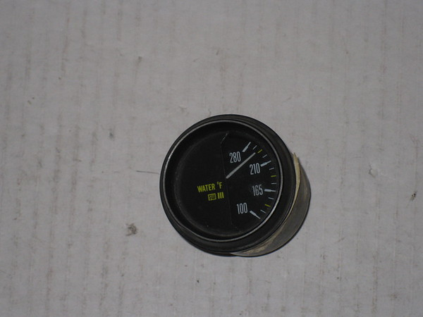 1974 75 76 77 78 Lamborghini Countach LP 400 Stewart Warner used water temperature gauge # 6010902u