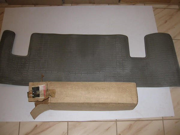 1981 Chevrolet Buick Oldsmobile Pontiac A body NOS rear floor mat # 998785