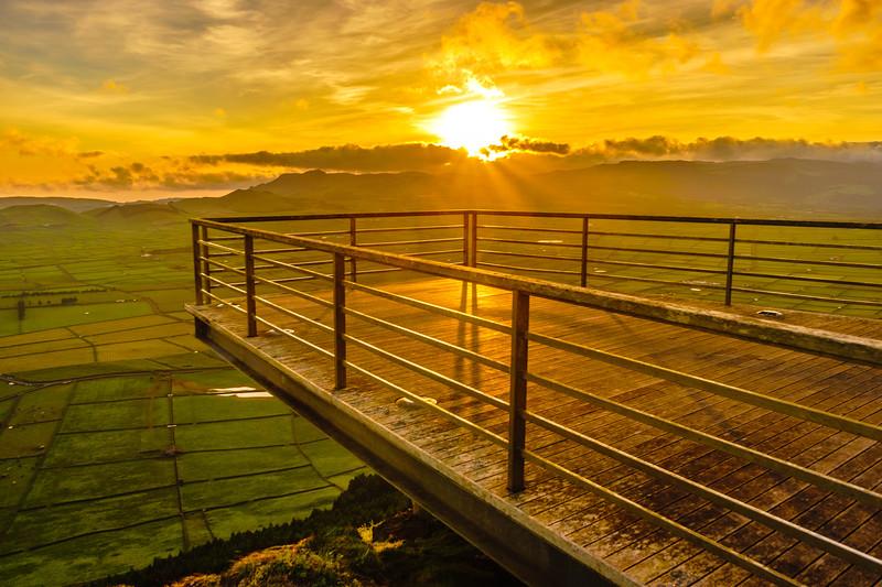 Original Terceira Island Viewpoint Sunset Photography 5 By Messagez com