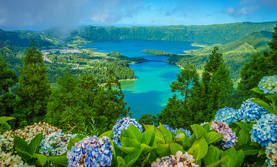 Portugal Azores Sao Miguel Island Magic Lagoons Photography By Messagez com