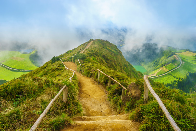 Amazing Azores Sao Miguel Island Viewpoint Landscape Photography 6 By Messagez com