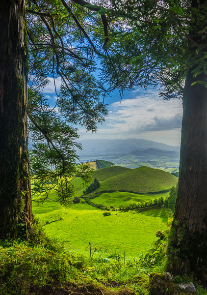 Amazing Azores Sao Miguel Island Window Viewpoint Landscape Photography 2 By Messagez com
