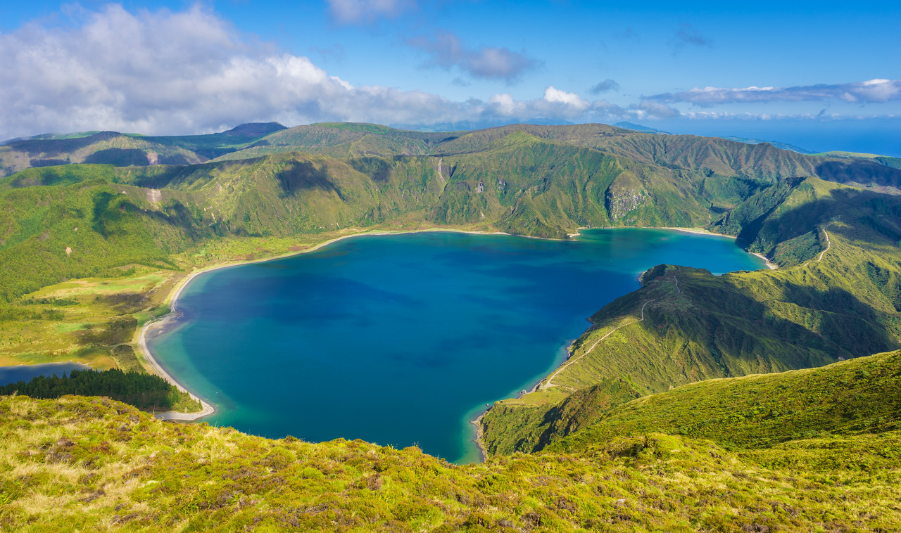 Azores Sao Miguel Island Fire Lagoon Landscape Photography 5 By Messagez com