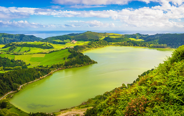 Azores Sao Miguel Island Furnas Lagoon Photography 2 By Messagez com