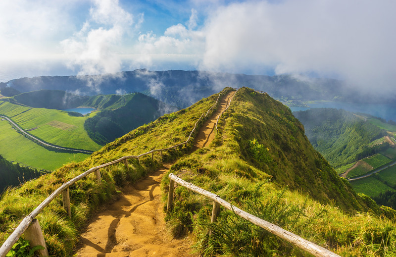 Amazing Azores Sao Miguel Island Viewpoint Landscape Photography By Messagez com