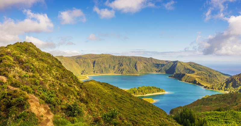 Azores Sao Miguel Island Fire Lagoon Landscape Photography 6 By Messagez com