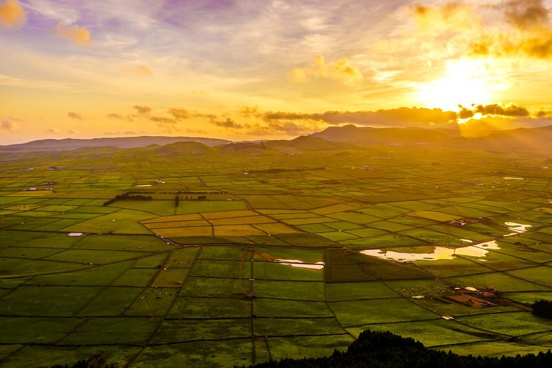 Original Terceira Island Viewpoint Sunset Photography 11 By Messagez com