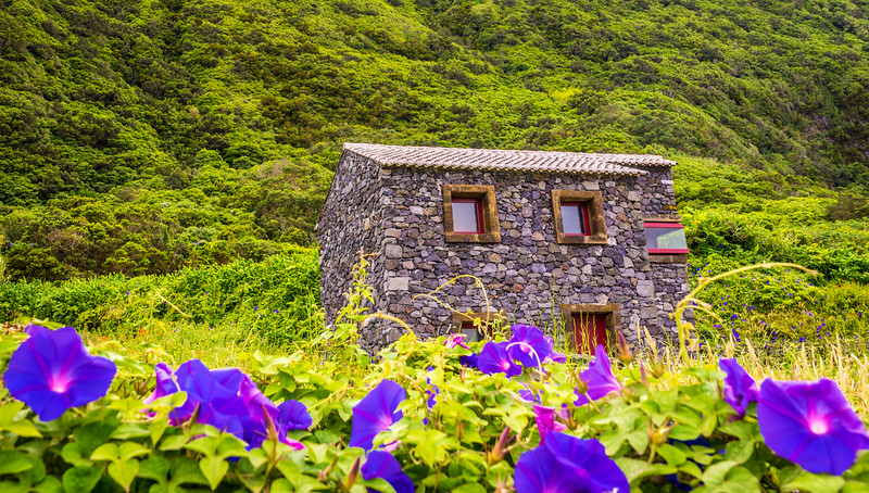 Azorean House in Sao Jorge Island Photography By Messagez com