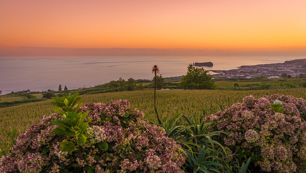 Azores Sao Miguel Island Sunset Landscape Photography 2 By Messagez com