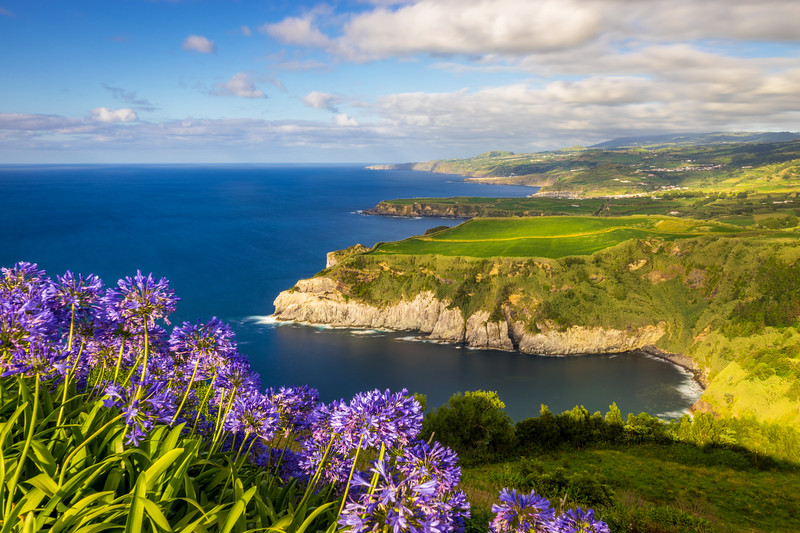 Amazing Sao Miguel Island Coast Landscape in Azores Photography By Messagez com