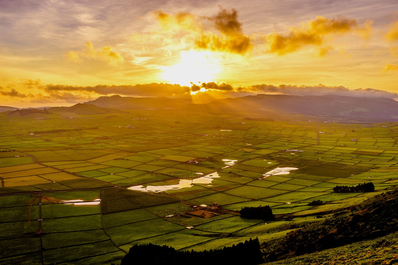 Original Terceira Island Viewpoint Sunset Photography 10 By Messagez com