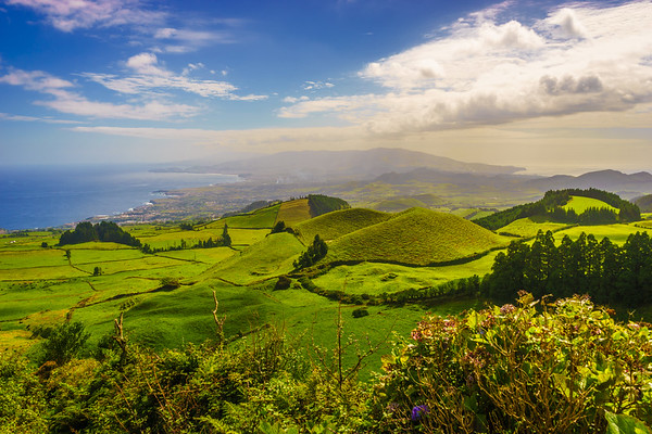 Azores Sao Miguel Island Viewpoint Landscape Photography By Messagez com
