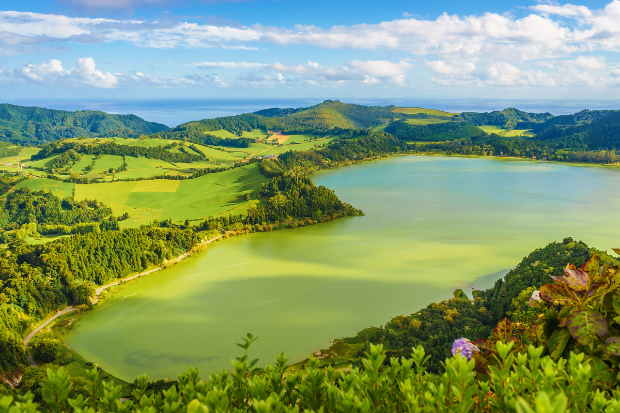 Azores Sao Miguel Island Furnas Lagoon Photography 6 By Messagez com