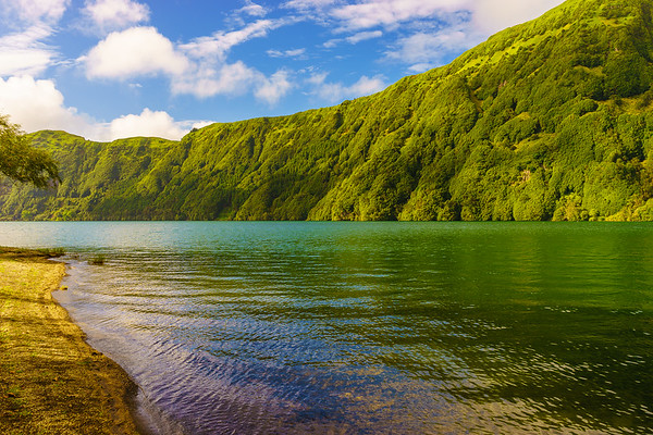 Azores Sao Miguel Island Lagoon Photography 2 By Messagez com