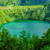 Portugal Azores Magic Green Lagoon Photography By Messagez com