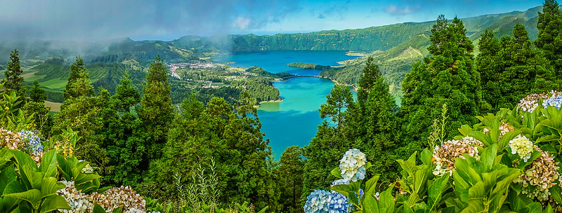 Best of Azores Sao Miguel Island Panorama Photography 6 By Messagez com