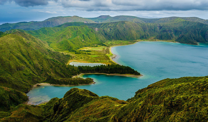 Azores Sao Miguel Island Fire Lagoon Landscape Photography 9 By Messagez com