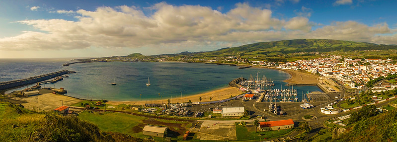 Original Terceira Island Viewpoint Panoramic Photography By Messagez com