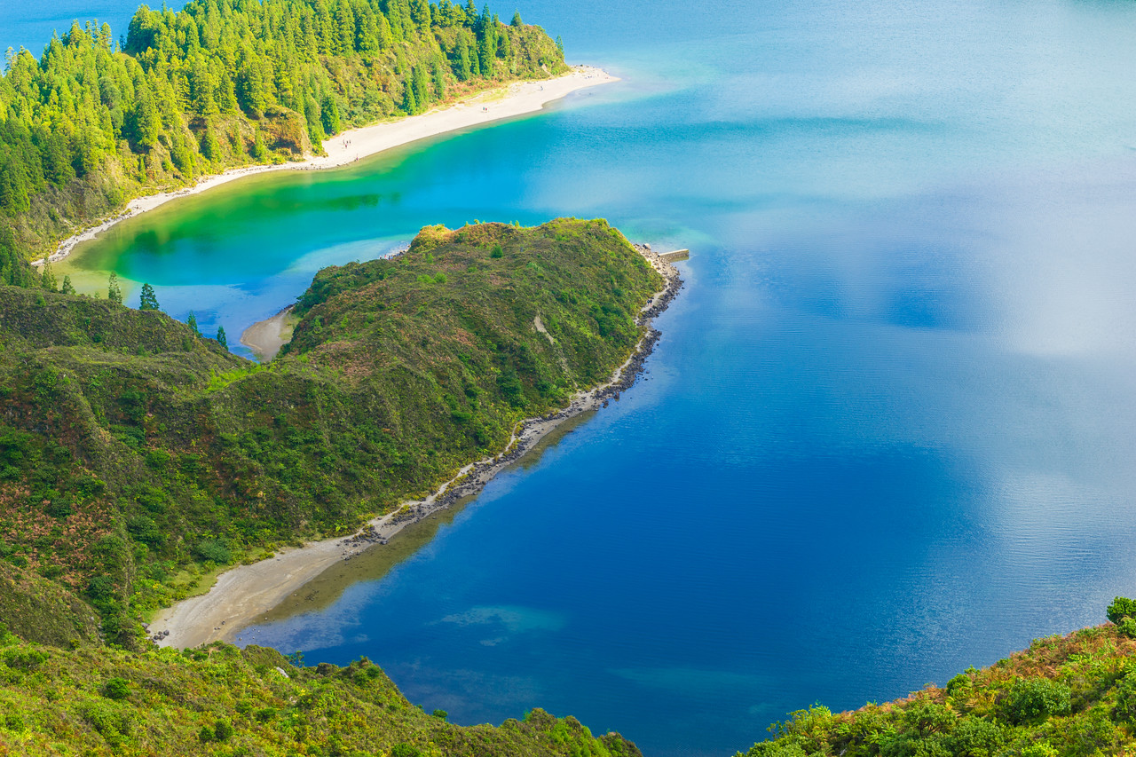Azores Sao Miguel Island Fire Lagoon Landscape Photography 4 By Messagez com