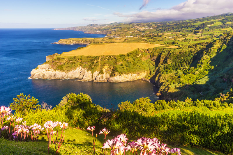 Azores Sao Miguel Island Viewpoint Landscape Photography 2 By Messagez com