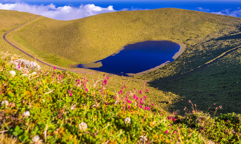 Azores Pico Island Lagoon Photography By Messagez com