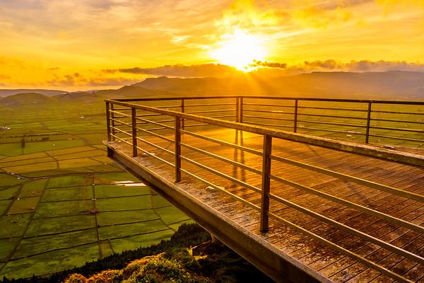 Original Terceira Island Viewpoint Sunset Photography 8 By Messagez com