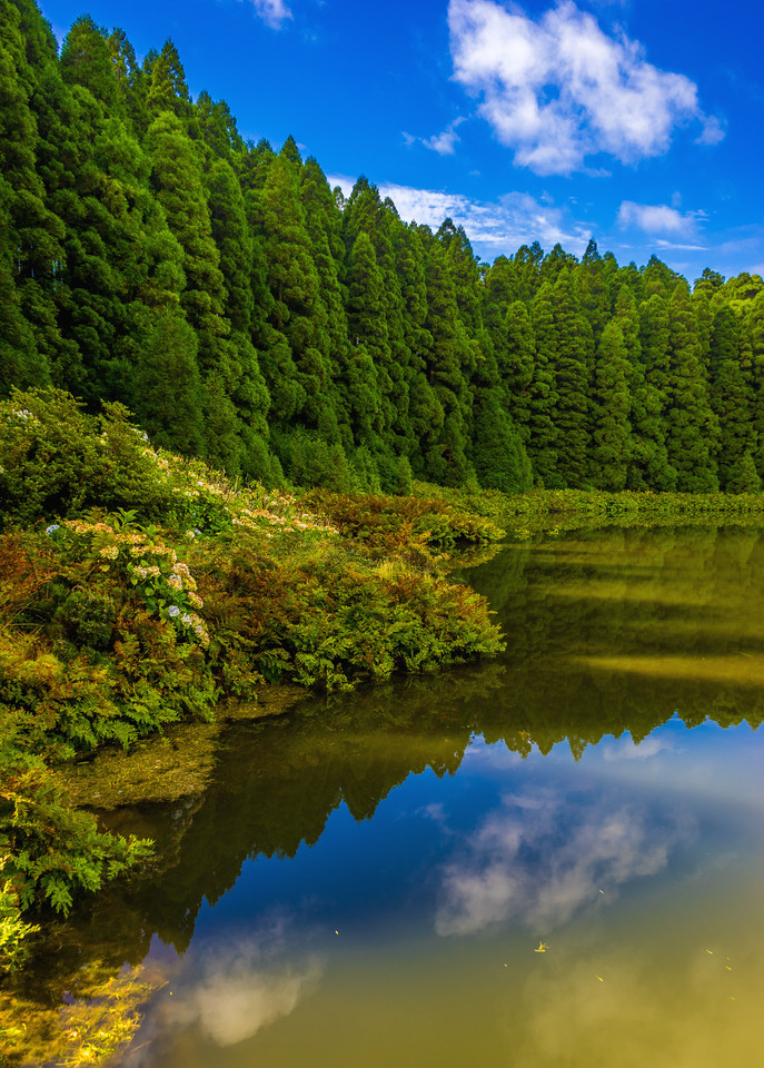 Azores Sao Miguel Island Canario Lagoon Landscape Photography 2 By Messagez com