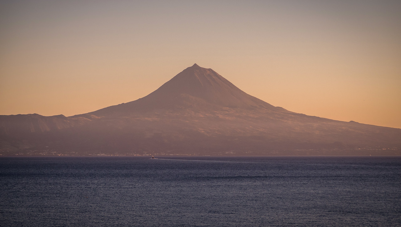 Majestic Pico Mountain in Azores Photography By Messagez com