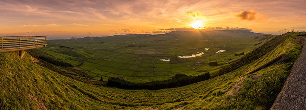 Original Azores Terceira Island Beauty Viewpoint Panorama Photography By Messagez com