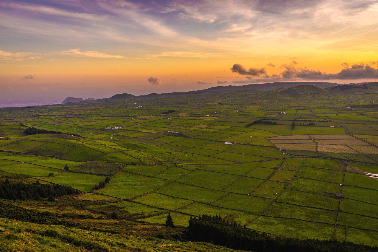Original Terceira Island Viewpoint Sunset Photography 3 By Messagez com