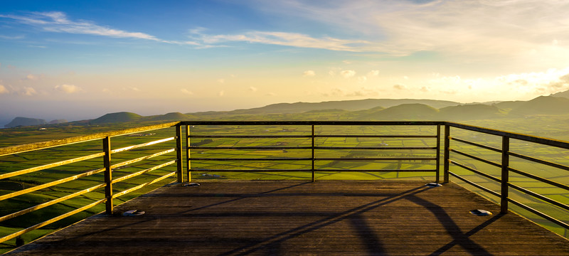 Original Terceira Island Viewpoint Sunset Photography 6 By Messagez com