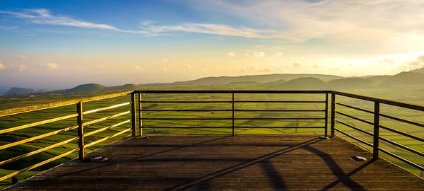 Original Terceira Island Viewpoint Sunset Photography 6 By Messagez com
