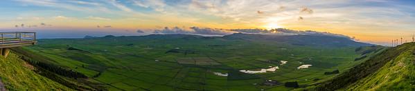 Original Azores Terceira Island Landscape Panoramic Photography By Messagez com