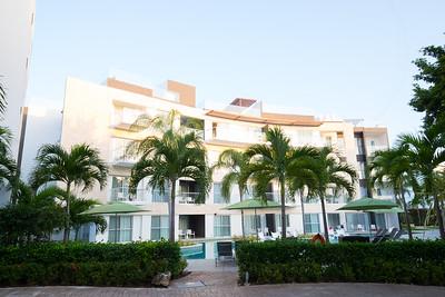 The Azul Fives Beach Resort in Playa del Carmen in Mexico