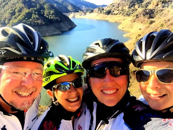 Azusa Canyon and Sante Fe Dam Loop Ride, December 28, 2016