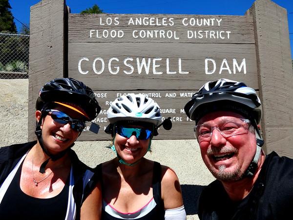 Azusa Canyon to Cogswell Dam Ride, Azusa CA July 9, 2016