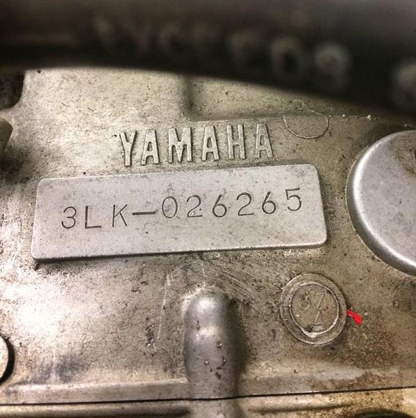 1000 cc Yamaha (J.C. Performance prepared, Stage 1) engine.
