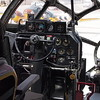 Pilot seat and controls
