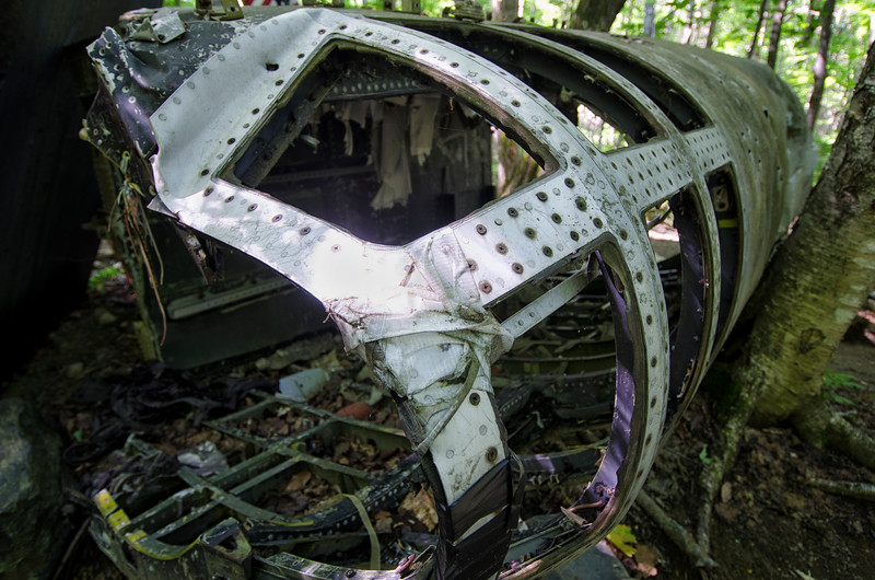 Forward fuselage of the ill-fated B-52