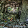 """The flight deck of the B-52 that crashed January 24,1963.  More about the crash here: <a href=""""http://en.wikipedia.org/wiki/1963_Elephant_Mountain_B-52_crash"""">http://en.wikipedia.org/wiki/1963_Elephant_Mountain_B-52_crash</a>"""