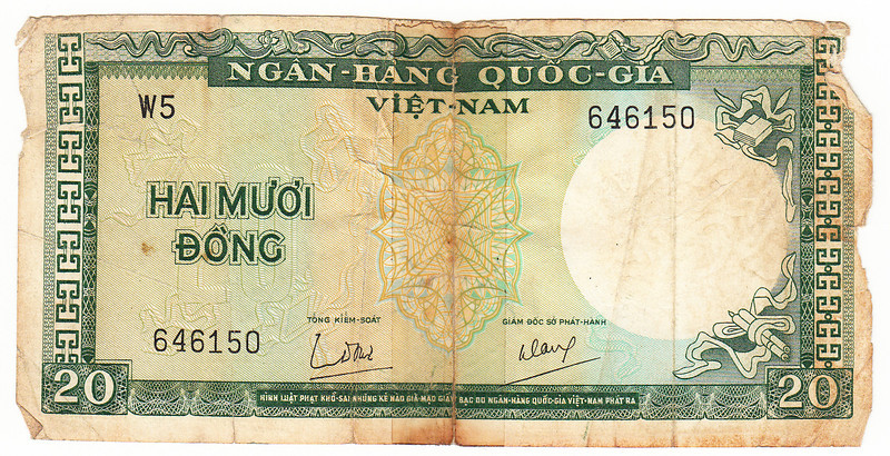 20 Dong note