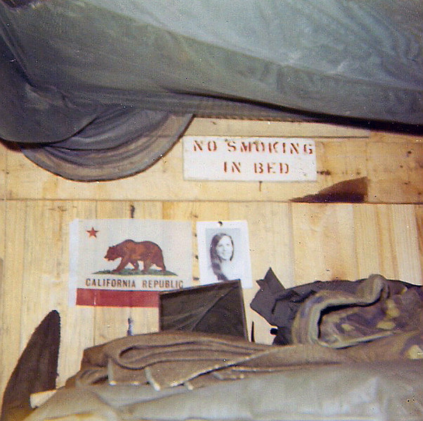 California Flag from Gov. Reagan, photo of Julie Dole