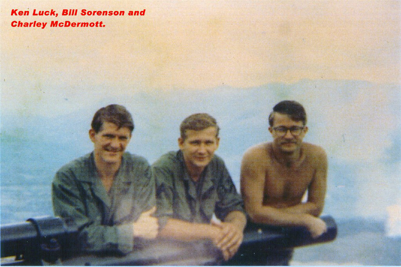 Ken Luck, Bill Sorenson, Charley McDermott